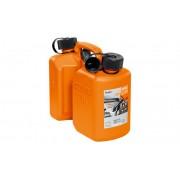 STIHL kanystr Kombi na benzín a olej plastový oranžový 3/1,5l