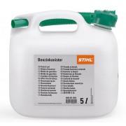 kanystr na benzín STIHL plastový průhledný 3 l